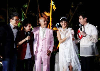 Wedding reception of Chinese Superstars Dicky Cheung & Jess Zhang