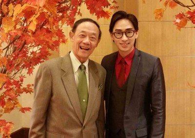 with the legendary balladeer Jose Mari Chan