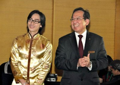with the Chinese Ambassador