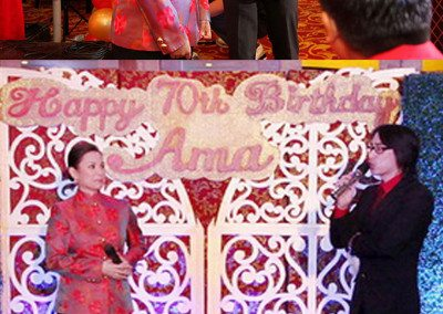 Being on the same stage with Miss Lea Salonga