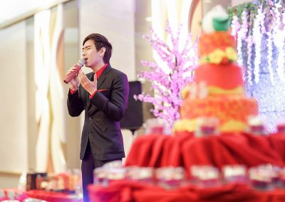 Performing in a Birthday Event