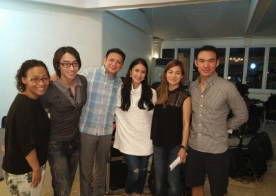 Rehearsal for Heart & Senator Chiz's wedding