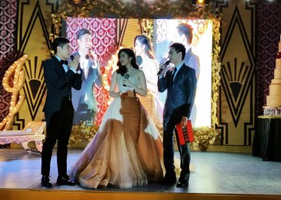 Hosting Janella Salvador's 18th Birthday bash with Robi Domingo
